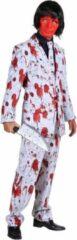 Witte Merkloos / Sans marque Heren pak Bloed