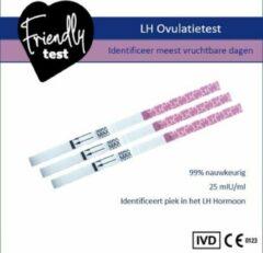 Friendly Test Vroege ovulatietest dipstick extra gevoelige zelftest