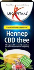 Lucovitaal CBD Hennep Thee Voedingssupplement - 20 Zakjes
