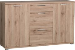 Germania Dressoir Apex 144 cm breed - Sanremo eiken