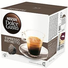 Nescafe Dolce Gusto Dolce Gusto Espresso Ristretto 3 x 16 cups: Cups & Capsules