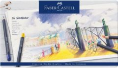 Faber Castell Kleurpotlood Faber-Castell Goldfaber etui à 36 stuks