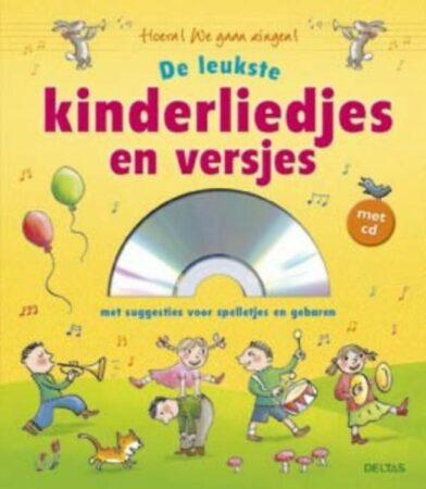 Afbeelding van Gele Deltas liedjesboek de leukste kinderliedjes en versjes met CD 23 cm