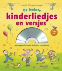 Gele Deltas liedjesboek de leukste kinderliedjes en versjes met CD 23 cm