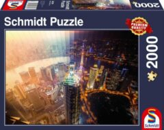 Schmidt Day and Night, Time slice, 2000 stukjes Puzzel