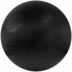 Matchu Sports Fitnessbal 85cm Zwart (Matchu Sports Gymbal 80cm Black).