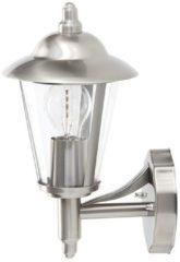 Brilliant Neil 40381/82 Buitenlamp (wand) Energielabel: Afhankelijk van de lamp LED E27 60 W RVS