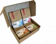 Localroast Koffiebonen Proefpakket | Dagelijks vers gebrand | Top selectie | 4 x 250g | Cadeaupakket