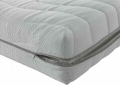 Witte Bedden Plein 40-45 B.V Matras Pocketvering Cooltouch - Luxe pocketvering matras heeft 7 zones - hoogwaardig HR koudschuim - 180x210