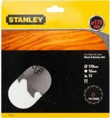 Stanley 170mm zaagblad voor TCT/HM