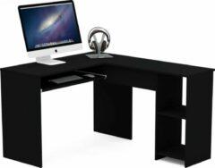 AZ-Home - Hoekbureau Simple - Bureau - Computer desk - Zwart
