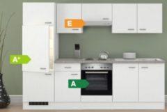Flex-Well Küchenzeile G-270-2208-000 Wito 270 cm - 4-Platten-Kochmulde