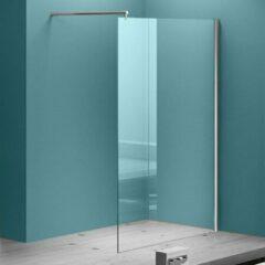 Douche Concurrent Inloopdouche Eco 100x200cm Antikalk Helder Glas Chroom Profiel 8mm Veiligheidsglas Easy Clean