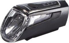 Zwarte Trelock LS 560 I-GO Control Koplamp, black