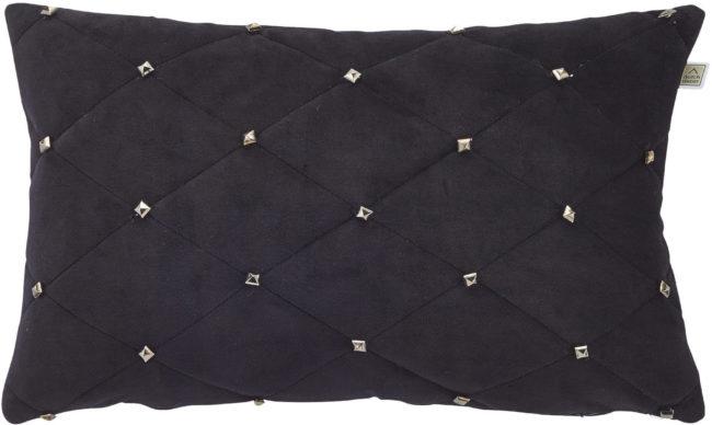 Afbeelding van Zwarte Dutch decor kussenhoes esula 30x50 cm zwart