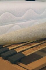 Bruine EZO Optinop matrasdek antislip