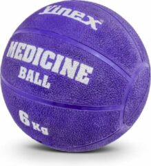 Vinex ESAM® Robuuste Medicijnbal - Medicine bal - Rubber - Paars - 6 kg