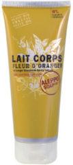 Aleppo Soap Co. Fleur D\'oranger Orange Blossom Body Lotion Melk Alle Huidtypen 200ml