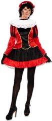 CSG Pietjurkje met petticoat rood maat S