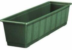 Geli Balkonbak standaard donker groen - Balkonbak donker groen 100 cm
