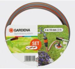 Gardena 2713-20 Profi-System Anschlussgarnitur Gardena grau