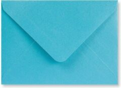 Lichtblauwe EnveloppenGigant.nl Metallic blauwe C6 enveloppen 11,4x16,2 cm 100 stuks