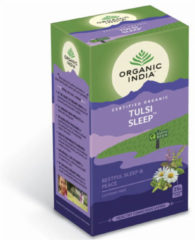 Organic India Tulsi sleep thee bio 25 Stuks