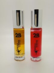 Gele 2B-lipgloss rol on cocktail 24 Tequila Sunrise - set van 2