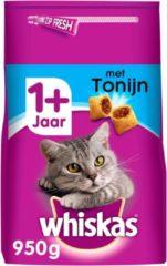 Whiskas Brokjes Adult Tonijn - Kattenvoer - 950 g - Kattenvoer