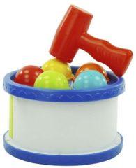ARO toys Hamerspel rond met ballen Ø16x10cm
