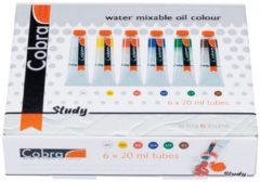 Talens Cobra study set 6 tubes 20ml