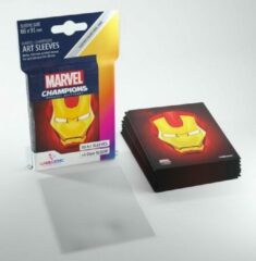 Iron Man Art Sleeves Gamegenic