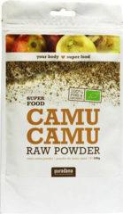 Purasana - Camu Camu Raw Powder - 100 Gram - Scherpe Zure Citroen Smaak - Rijk aan Vitamine C