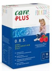 Care Plus ORS zakjes (Oral Rehydration Salt) voor kinderen - Framboos