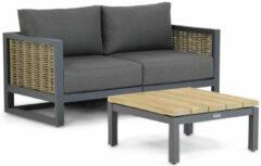 Santika Furniture Santika Salviano/Riviera 75 cm lounge tuinbank 3-delig