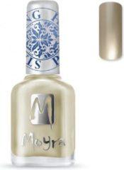 Gouden Moyra Stamping Nail Polish 12ml SP09 GOLD