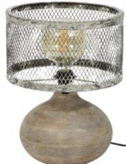 Zaloni Tafellamp Trunk van 40 cm hoog - Verweerd koper