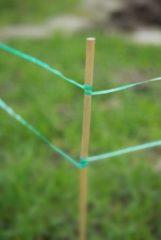 Nature Vogelschrikband - Kweekbenodigdheden - 2x7x7 cm Groen