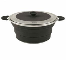 Fiamma Outwell Collaps Campingservies en keukenuitrusting with Lid 2500ml grijs/zwart