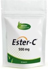 Healthy Vitamins Ester C 500 mg - 60 capsules - Niet-zure vorm Vitamine C