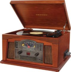 Bruine Crosley Lancaster - Entertainment Center - Paprika Kleur