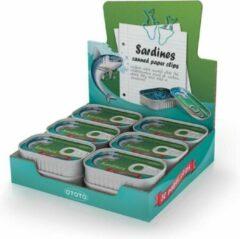 Blauwe Ototo Design Sardine Paper clips