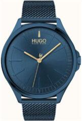 HUGO HU1530136 #SMASH - Polshorloge - Staal - Blauw - Ø 43 mm