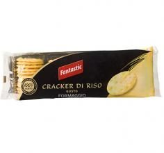 FANTASTIC FOODS Fantastc Food Cracker Di Riso Formaggio 100g
