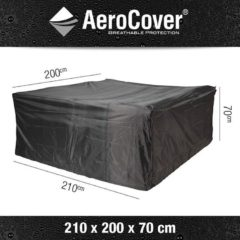 Platinum AeroCover loungesethoes 210x200xH70 cm antraciet