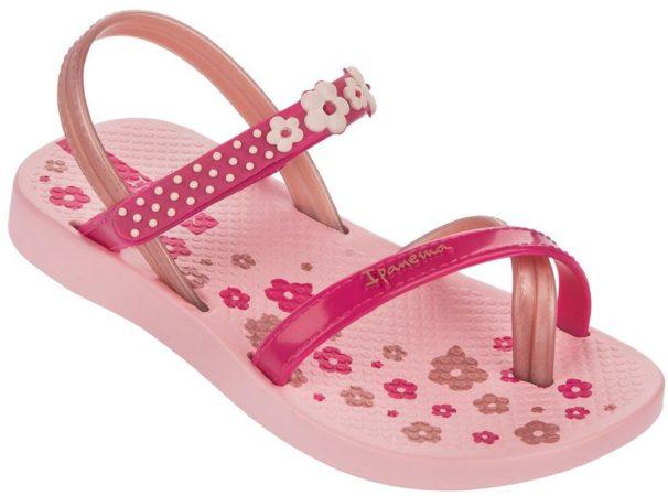 Afbeelding van Roze Ipanema Fashion IV Slipper Baby Girls