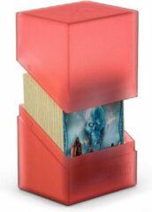 Ultimate Guard Boulder Deck Case 80+ Standard Size Ruby