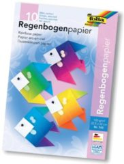 Folia regenboogpapier