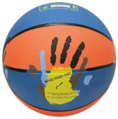 Blauwe Basketbal | mt 5 | Softee | Met handen | Oefen Basketbal | Trainings Basketbal
