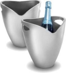 Pulltex Wijnkoeler zilver